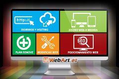 Crear Página Web Negocio   Presupuesto Gratis   WebArt.es Barcelona