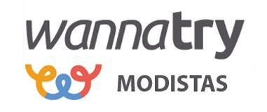 Logotipo de empresa Modistas en Zaragoza: Los mejores diseñadores de ropa están en Wannatry