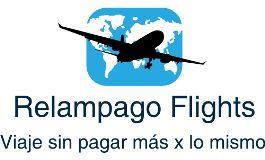 Logotipo de empresa Relampago Flights